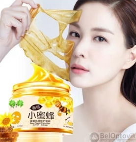 Восстанавливающая маска-пленка для лица с экстрактом меда Images Honey Moisten Moisturizing Mask, 140g