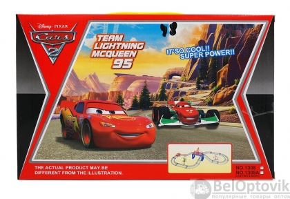 Автотрек Team Lightning McQueen 95