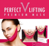 Многоразовая маска для лифтинга овала лица AVAJAR perfect V lifting premium mask Korea