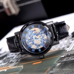 Мужские часы Winner Blue Dial Skeleton