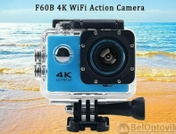 Экшн камера 4К Ultra HD Sports (4K WiFi Action Camera). Качество А